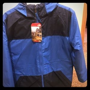 North Face coat youth extra large